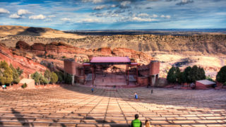 Red Rocks - Photo credit Visual Sensory