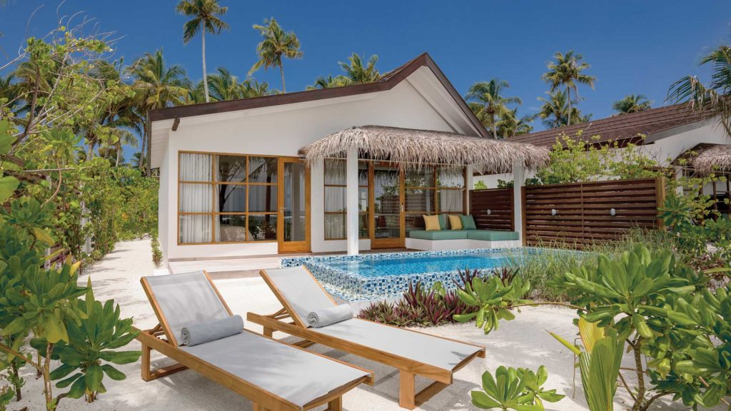 Maldive Beach Pool Villa
